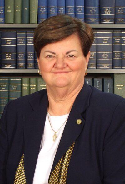 President Sister Peg Albert